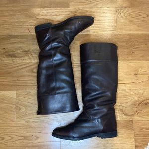 Orvis Leather Knee-High Boots